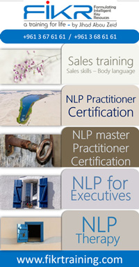 nlp and sales training in lebanon by Jihad Abou Zeid