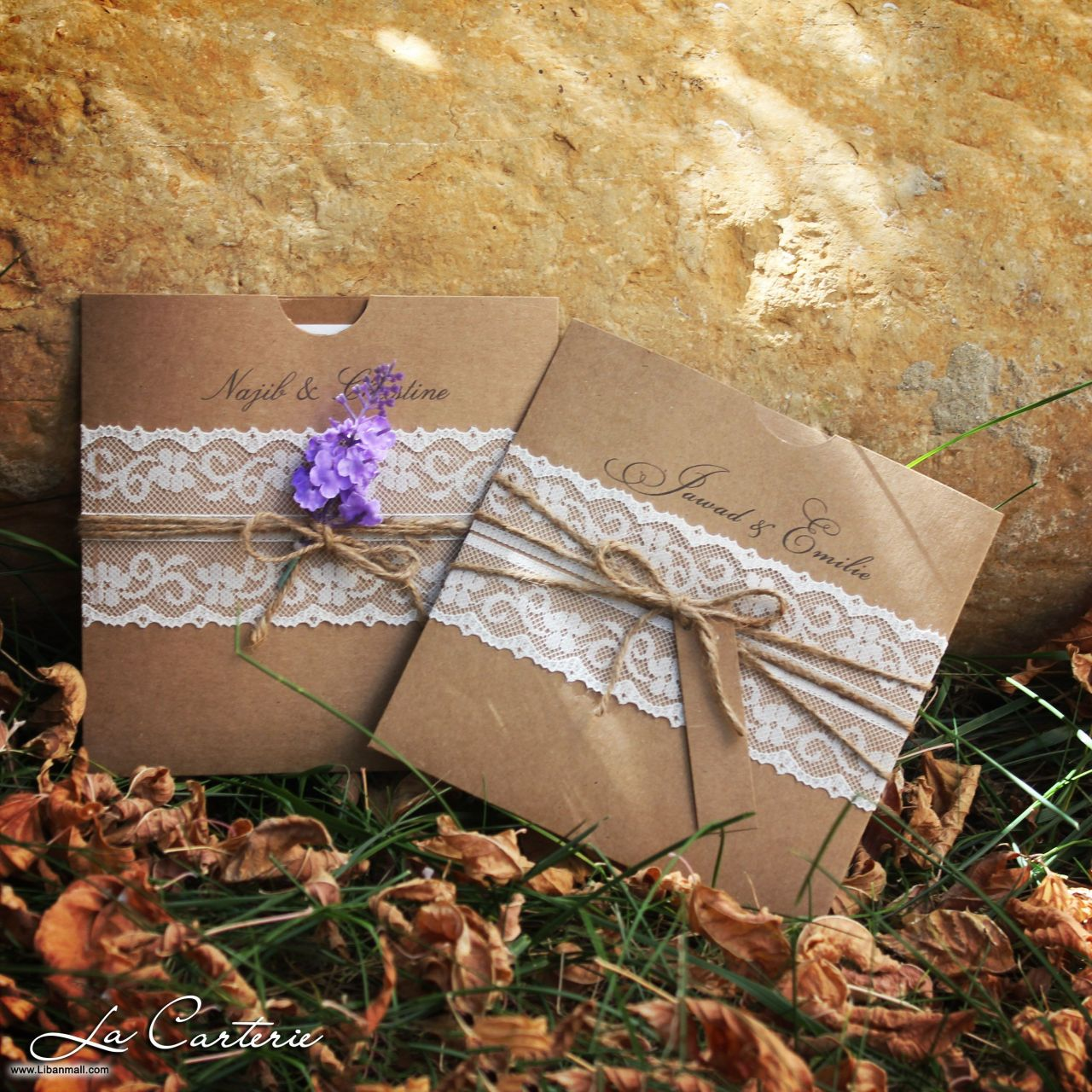 La Carterie, wedding cards in Lebanon, Lebanon wedding cards
