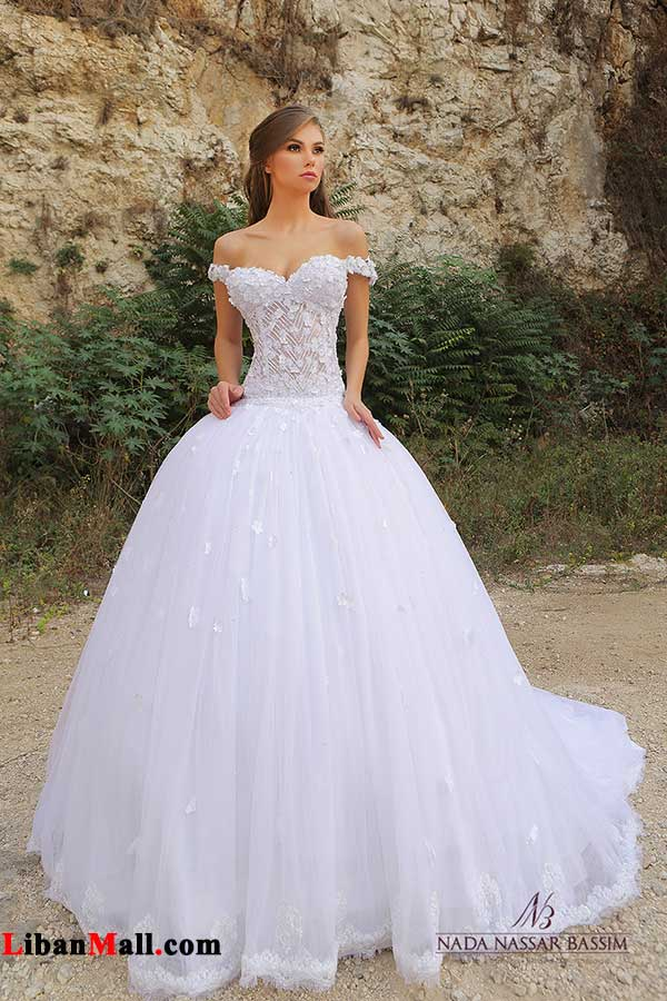 Nada Nassar Bassim Haute Couture wedding dresses 2017