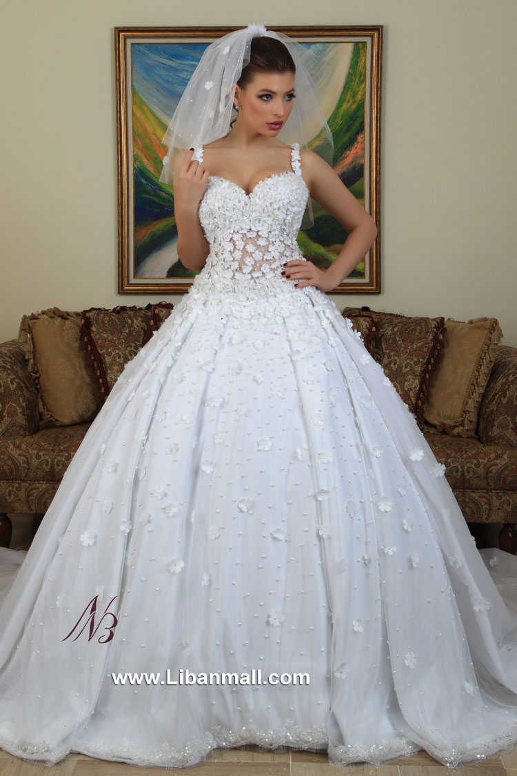 Esposa dbayeh lebanesemall for Lebanese wedding dress designers