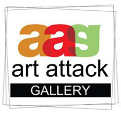Art Attack Gallery logo