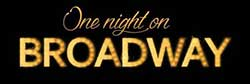 One Night on Broadway logo