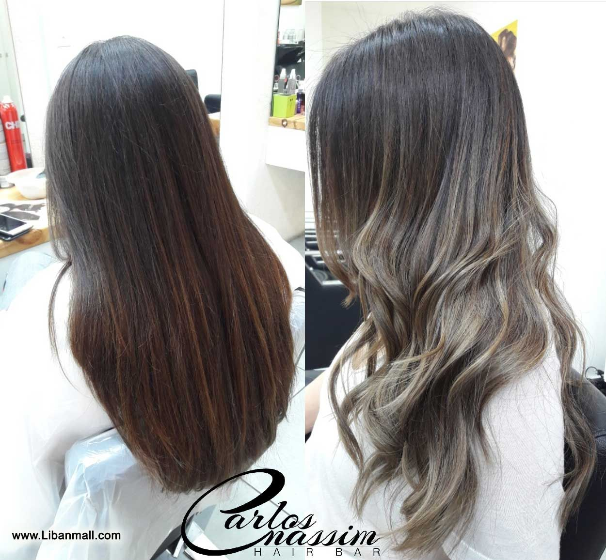 Carlos Nassim hair bar, hair treatment, up & style, nails, makeup
