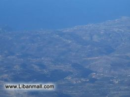 Lebanon photos from above the clouds