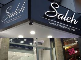 Saleh Jewelry, certified diamonds grader