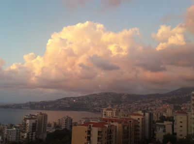 Lebanon nature, skies